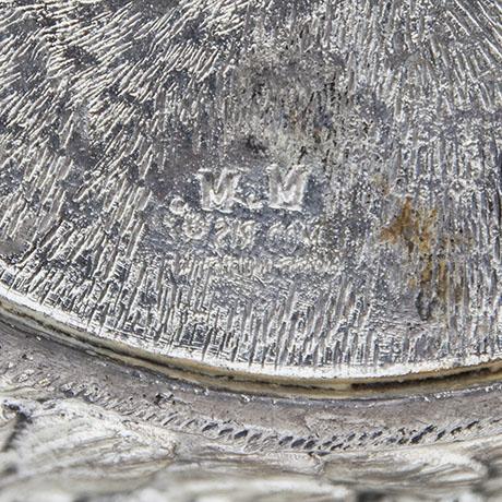mauro-manetti-swan-ice-bucket-signed
