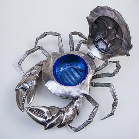 Franco-Lapini-crab-caviar-bowl-silver