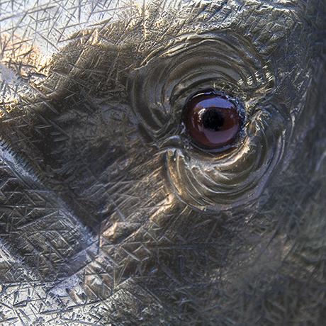 Franco-Lapini-elephant-wine-cooler-centerpiece