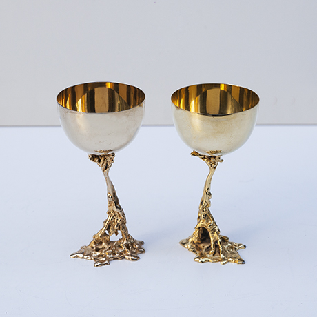 Gabriella-Crespi-wine-cups-golden