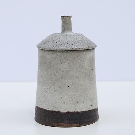 Gambone-ceramic-vase-grey-brown_box