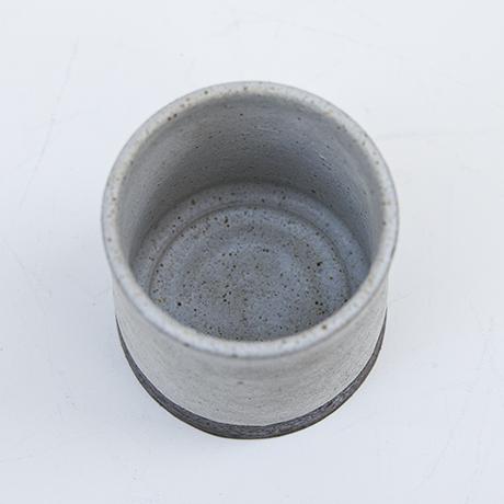 Gambone-ceramic-vase-grey-brown