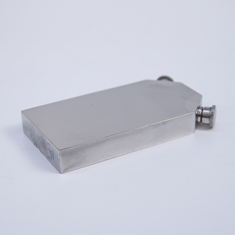 Gucci-hip-flask-leather-grey-silver