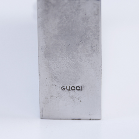 Gucci-hip-flask-leather-silver-signed