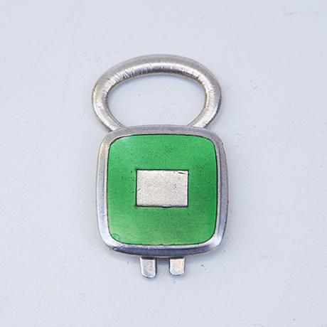Schlichtes DesignGucci-key-holder-green-sterling-silver_1