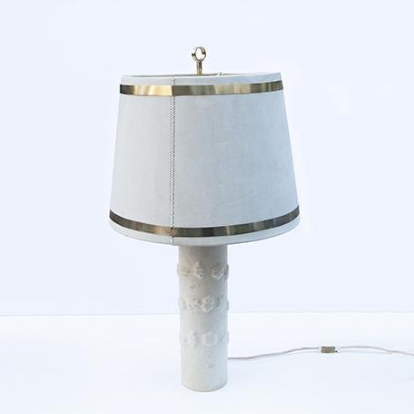 Jacques-Adnet-Tischlampe-Veloursleder-lampe