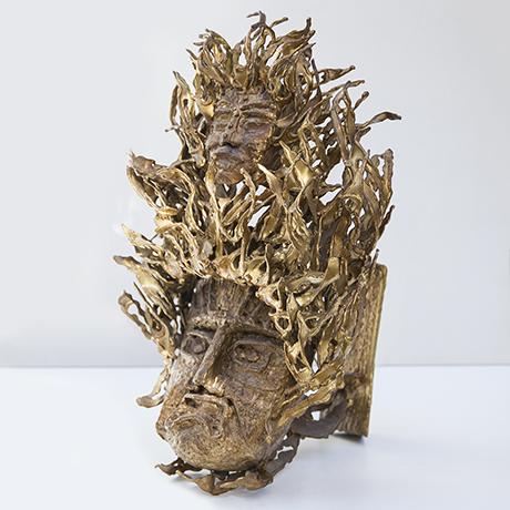 Moerenhout-Tischlampe-wandlampe-gesichter-gold