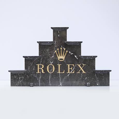 Rolex-desk-accessory-marble-grey