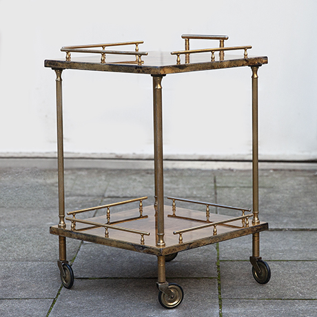 Aldo-Tura-serving-bar-cart-brown