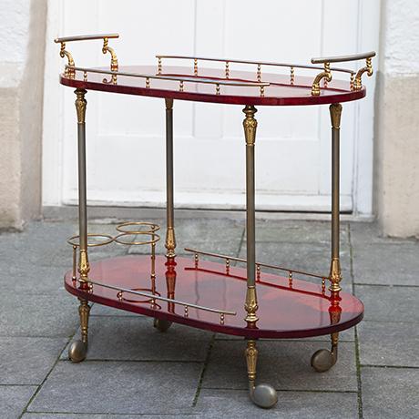 Aldo-Tura-barwagen-rot-italien