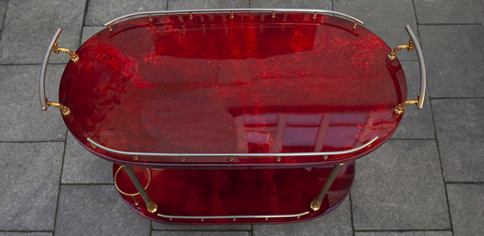 Aldo-Tura-bar-cart-red-milano