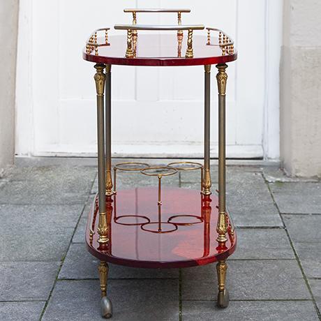 Aldo-Tura-barwagen-rot-vintage