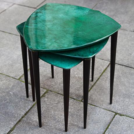 Aldo-Tura-coffee-tables-green