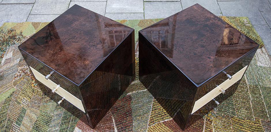 Aldo-Tura-nightstands-brown-goatskin