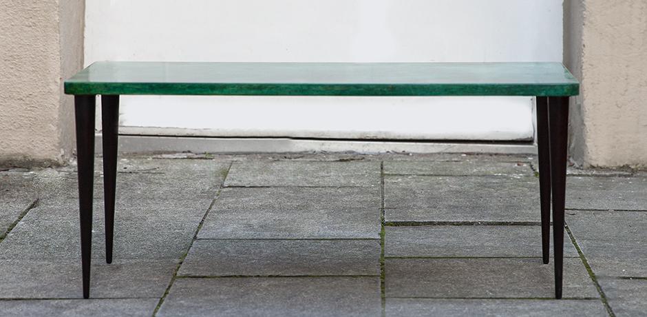 Aldo-Tura-side-table-green-vintage