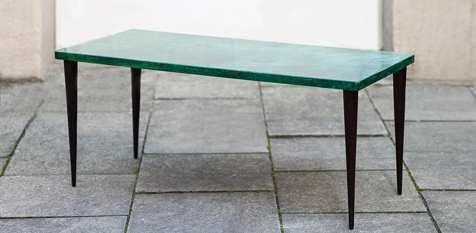 Aldo-Tura-side-table-green-italy