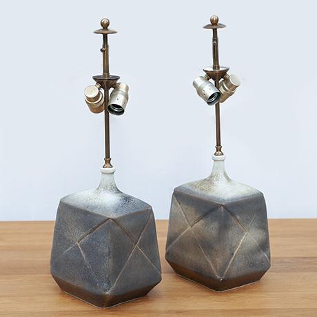Asshoff-keramic-Tischlampe-lampe-braun