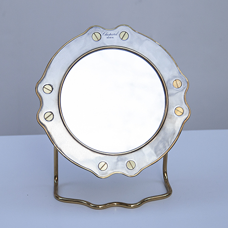 Schlichtes DesignChopard-table-mirror-silver