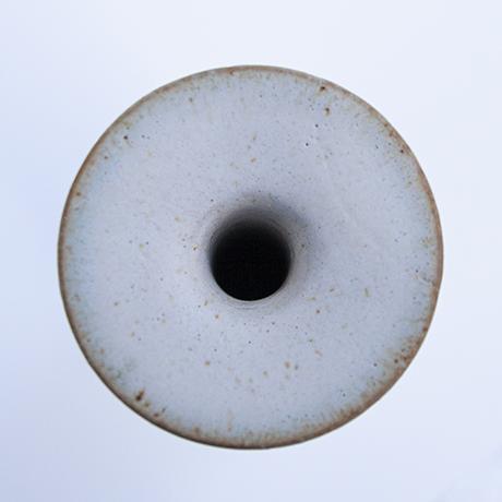 Gambone-ceramic-vase-white-brown-art