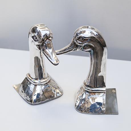Valenti-duck-buchstütze-ente-silber