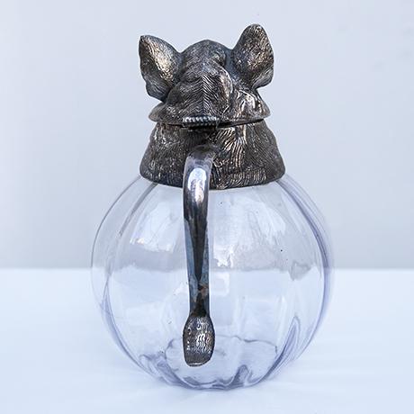 Valenti-Wildschwein-silber-Karaffe