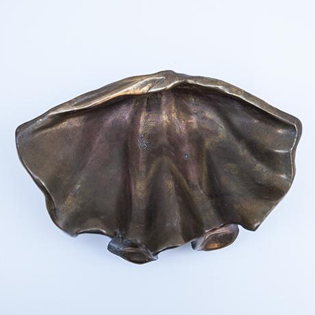 muschel-schuessel-schale-bronze-vintage