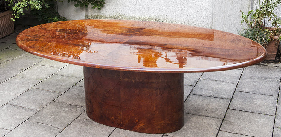 Aldo-Tura-dining-table-tobacco-oval