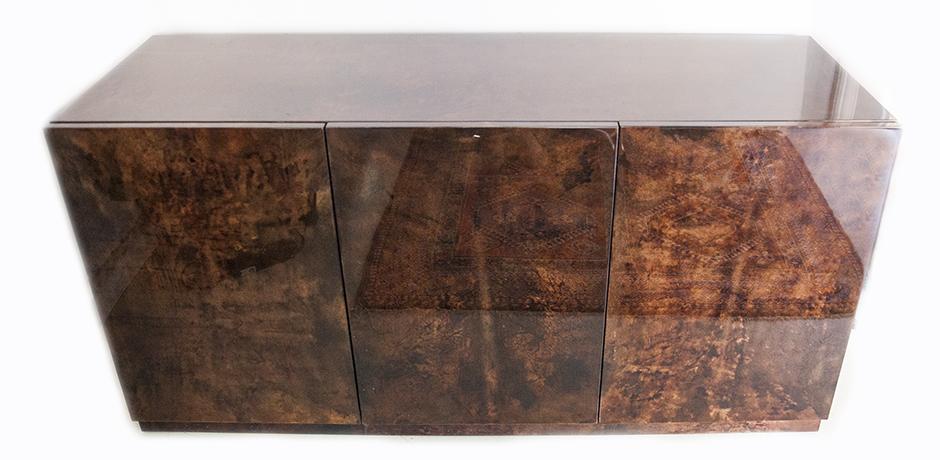 Aldo-Tura-sideboard-brown-italy-goatskin