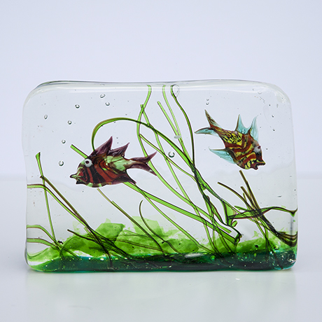 Barbini-murano-glass-aquarium-object