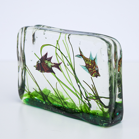 Barbini-murano-glas-aquarium-fisch