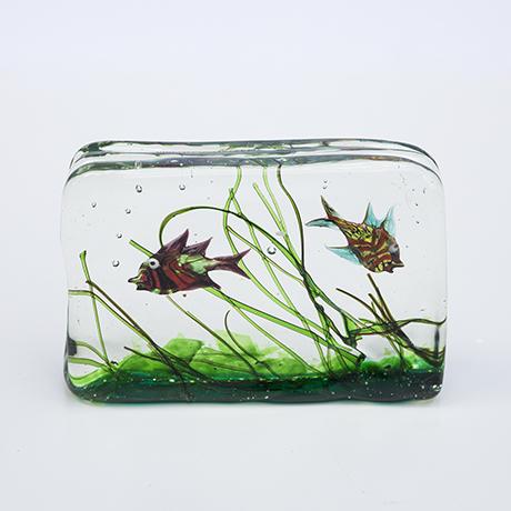 Barbini-murano-glass-aquarium-fish