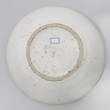 Bruno-Gambone-plate-ceramic-signed-bowl