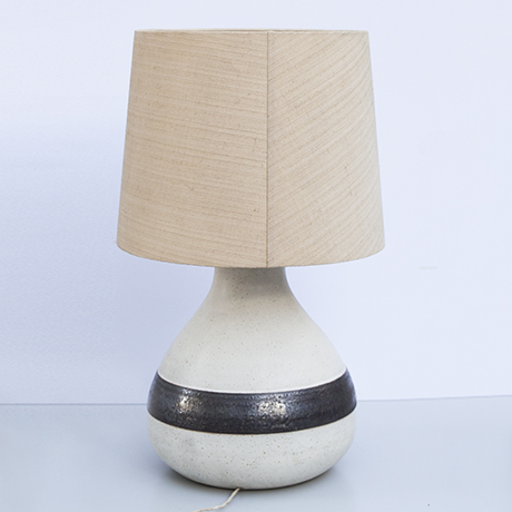 Bruno-Gambone-table-lamp-greige