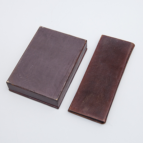 Dior-game-card-box-leather-brown