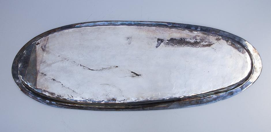 Franco-Lapini-hummer-silber-platte-servierplatte