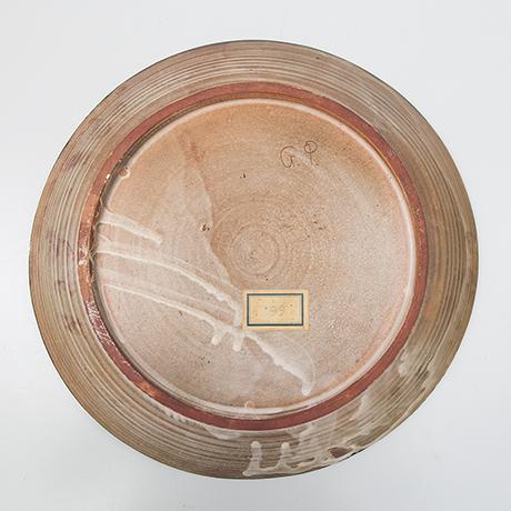 Gilbert-Portanier-keramik-teller-rot-art