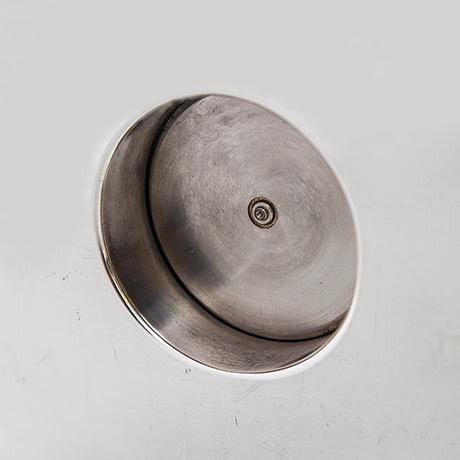 Gucci-table-clock-silver