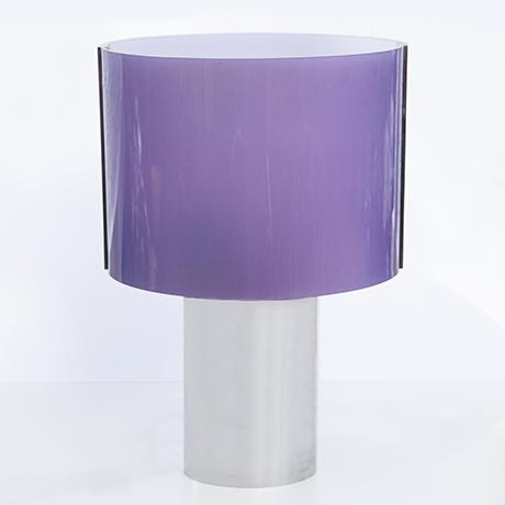 Schlichtes DesignKnoll-International-table-lamp-purple