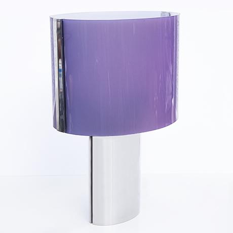 Knoll-International-Tischlampe-lampe-violett