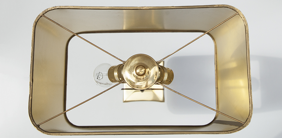 Tischlampe-Lampe-achat-braun-Daro