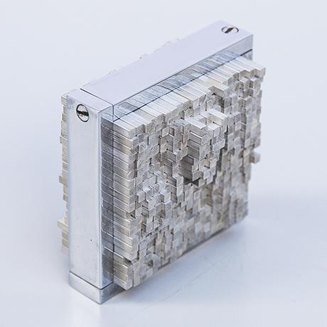 Schlichtes DesignOtto-Monestier-kinetic-object-sculpture