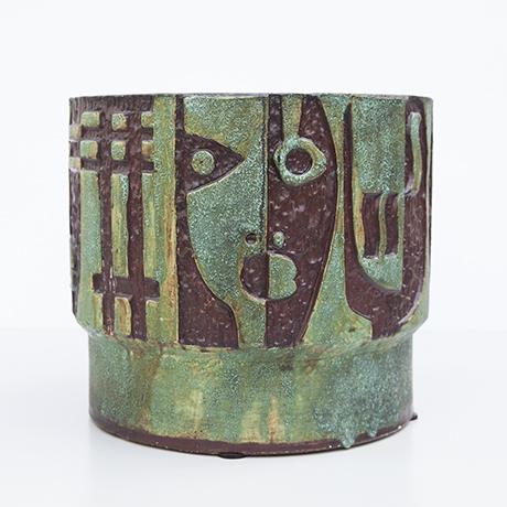 Schäffenacker-keramik-blumentopf-gruen-gesichter
