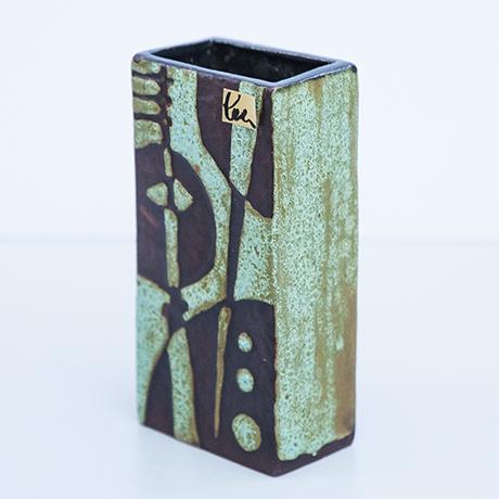 Schäffenacker-Keramik-vase-gruen-braun