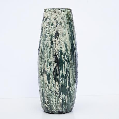 Schäffenacker-ceramic-vase-green-white-vintage