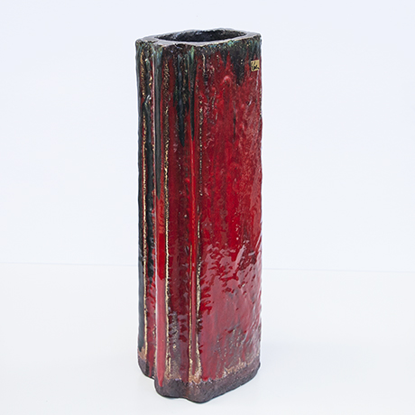 Schäffenacker-keramik-bodenvase-rot