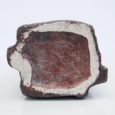 Schäffenacker-ceramic-floor-vase-red-glazed