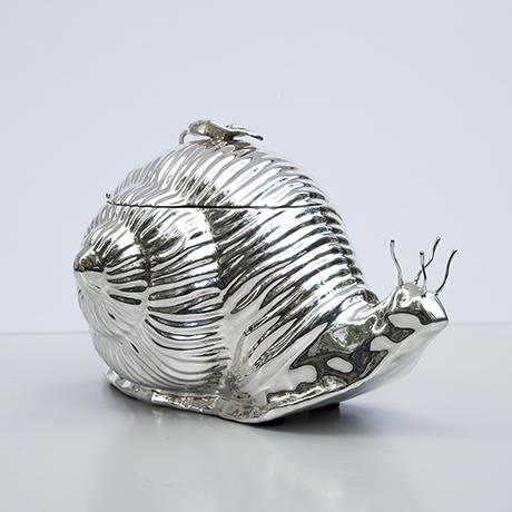 Teghini-ice-bucket-snail-silver