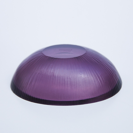 Venini-Murano-glass-bowl-purple