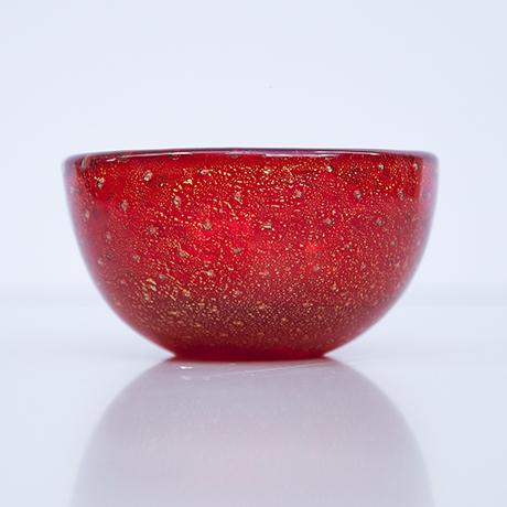Venini-Murano-glass-vase-signed