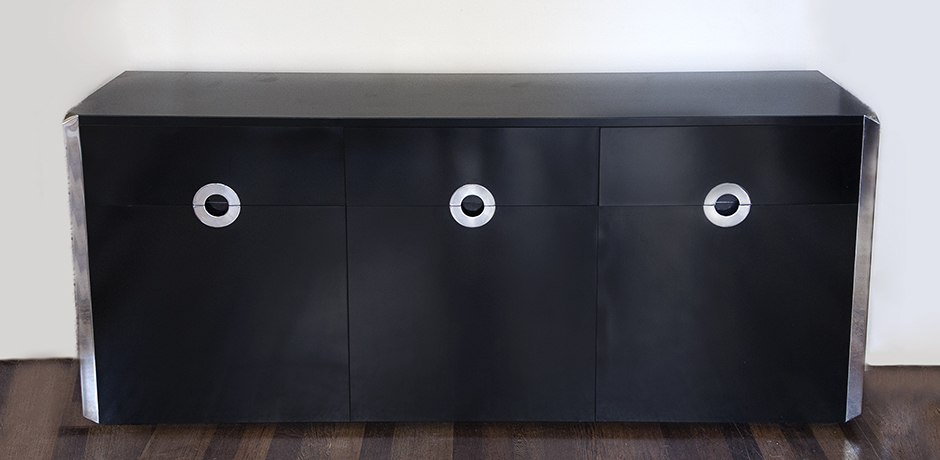 Willy-Rizzo-sideboard-black-Sabot